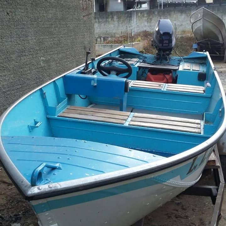 Venda de Barcos de Alumínio